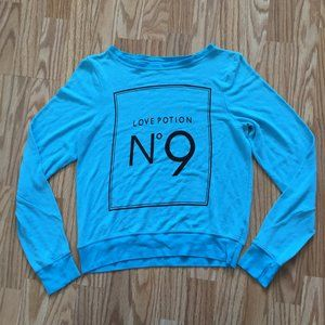 NEW WILDFOX COUTURE POTION N 9 SWEATER SZ XS